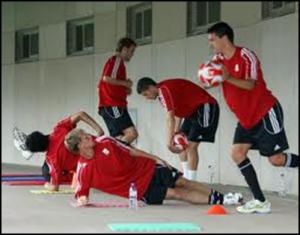 voetbaltrainingen