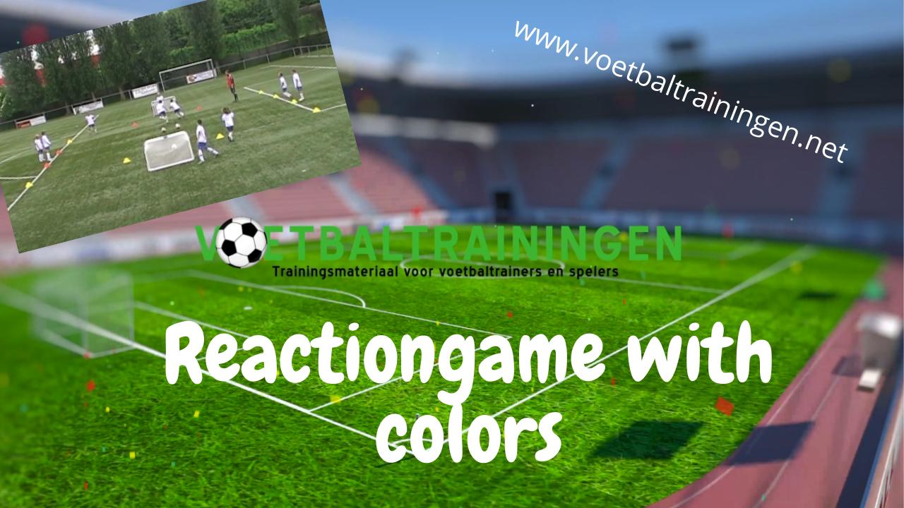 reactiespel met kleuren