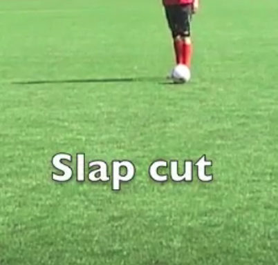 schijnbeweging slap cut