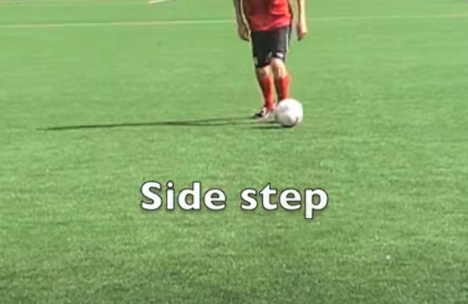 schijnbeweging side step